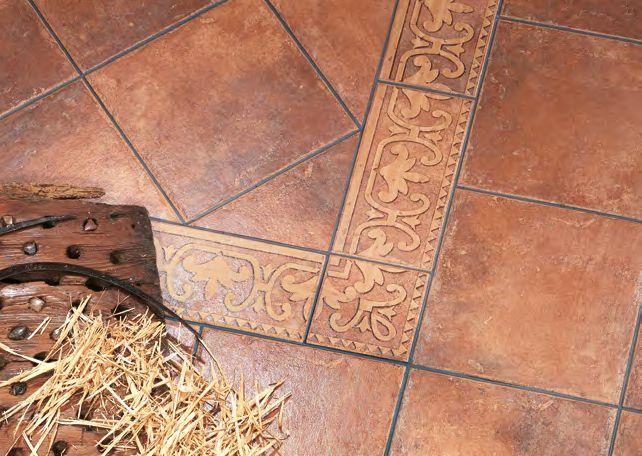 Suelo r stico de primera calidad cer micas pisos - Ceramica rustica para suelos ...