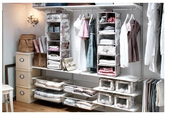 Begehbarer kleiderschrank ikea algot  Ikea Algot walk In System | ¿ wheN I gEt oRganizEd ? | Pinterest ...
