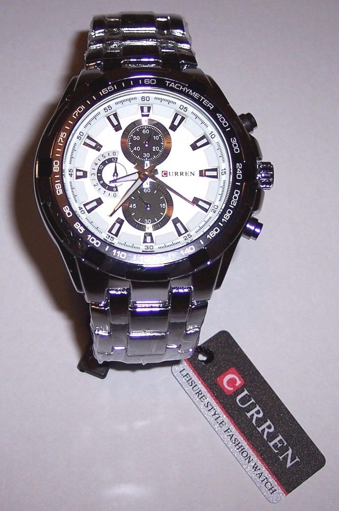 CURREN 8023 Silver Stainless Steel Men s Wrist Watch. 30M Water-resistant  7e314d3e7f2