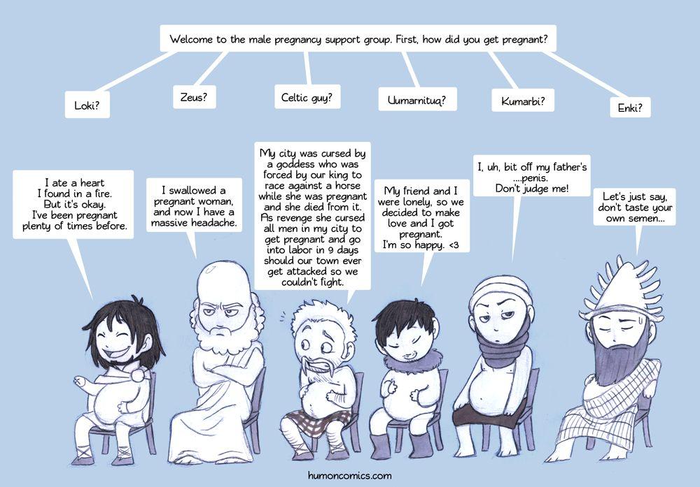 Godly MPreg support group | Pagan/Heathen LULz | Pregnancy humor