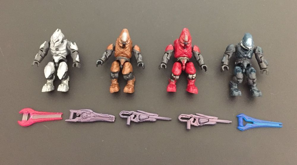 Mega Bloks Halo Covenant Storm Zealot Ranger Elite Figure