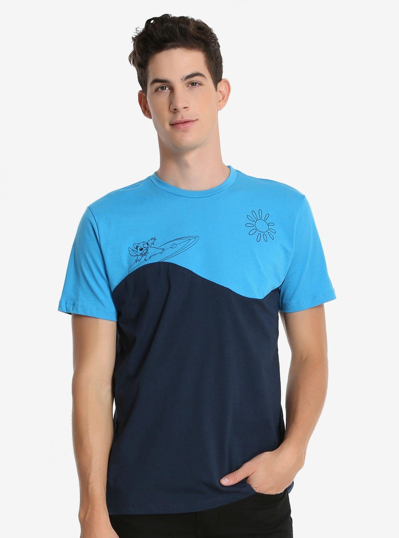 Disney Lilo & Stitch Color Blocked TShirt Lilo and