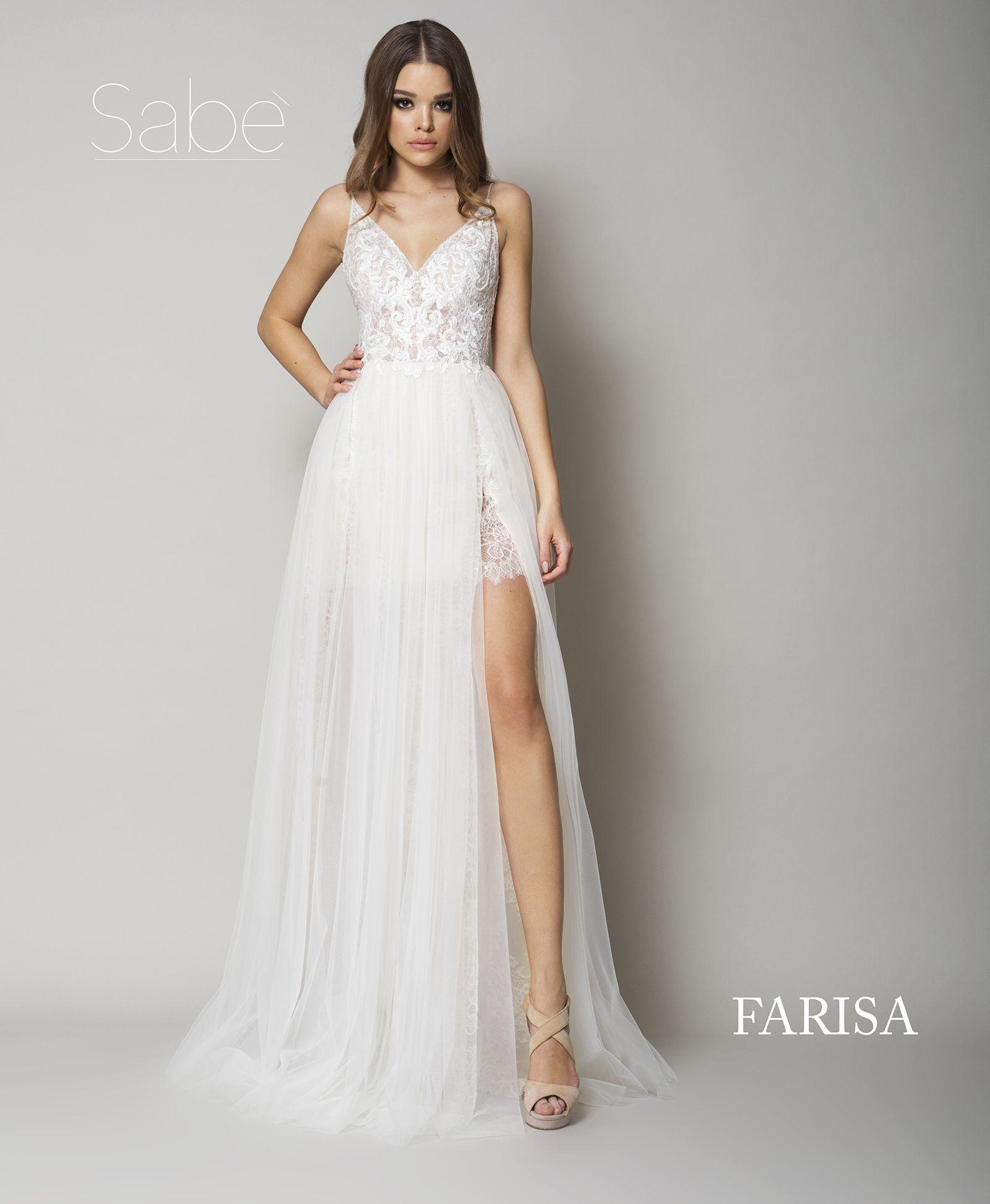 Suknia ślubna Z Rozcięciem Wedding Dress Suknie ślubne