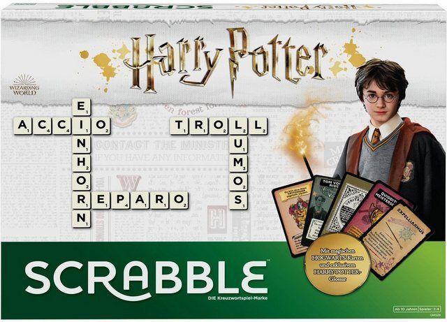 Spieldauer 60 Min Inhalt Spielbrett 4 Buchstabenbankchen Beutel Mit Buchstabensteinen Harry Potter Gloss Scrabble Online Family Games Kids Party Games