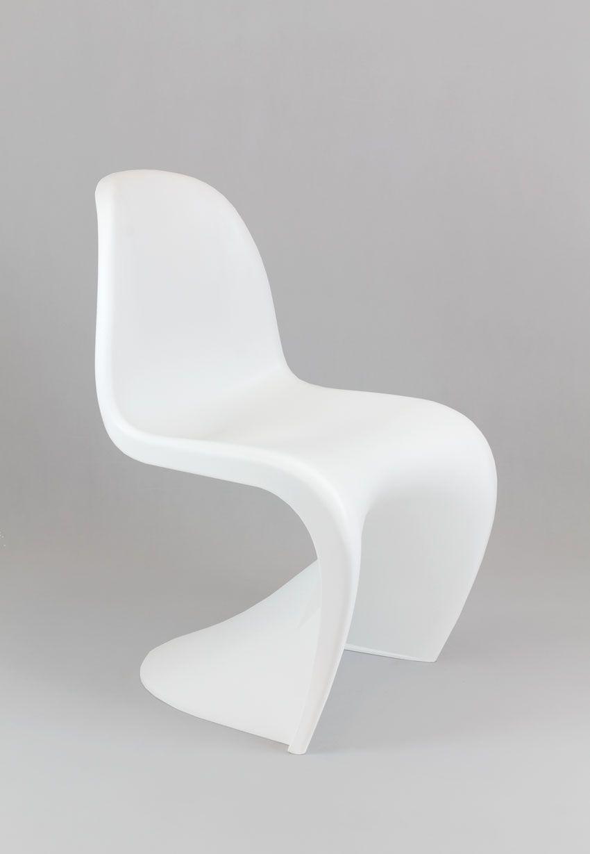 Kr017 Biale Krzeslo Inspirowane Panton Mat Swiat Krzesel Furniture Accent Chairs Chair