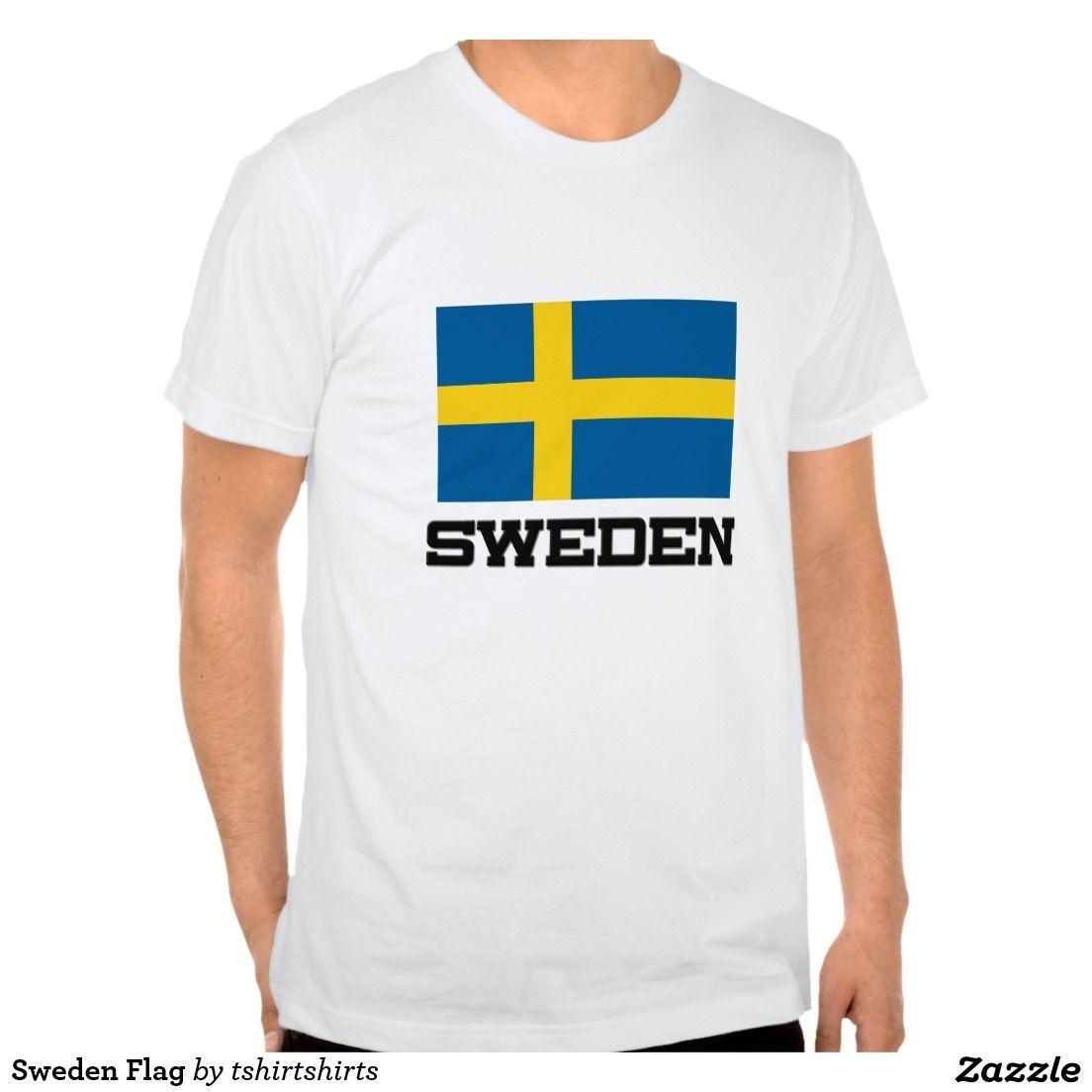 Sweden Flag Tshirts