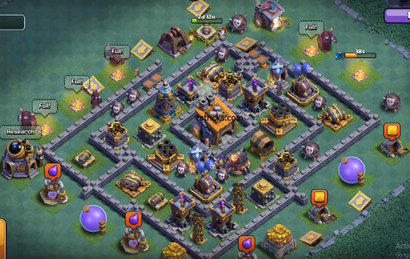 Coc Builder Base Th8 Best Defense 3