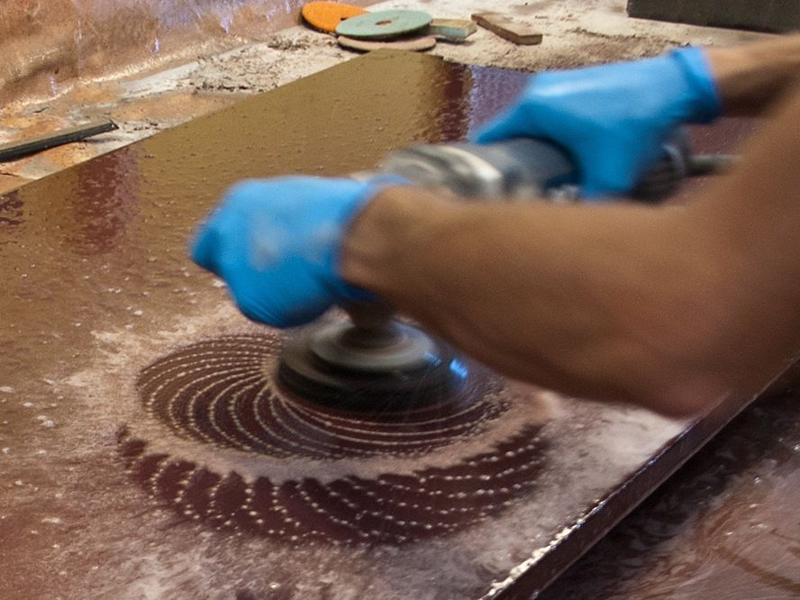 Learn How To Polish Concrete Countertops From The Trainers At CHENG Concrete  Exchange And Master This Critical Concrete Skill.