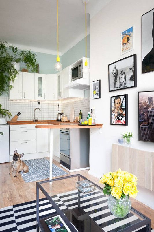 How To Update Kitchen Cabinets In Rental Apartment | Small ...