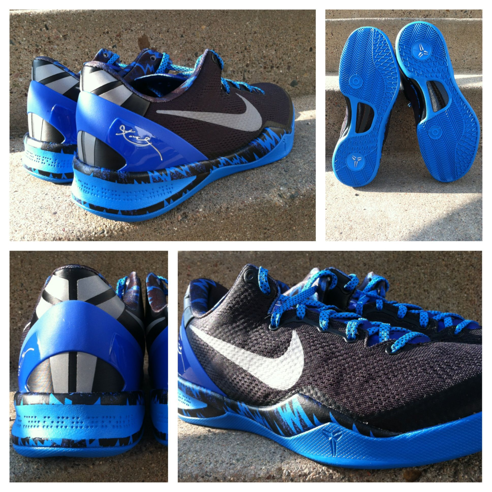 Hit the court in the Nike Kobe 8 System this season. More colorways  available.