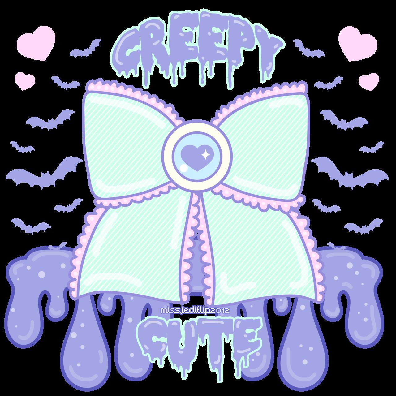 Creepy Cute By Missjediflip On Deviantart Goth Wallpaper Creepy Cute Pastel Goth Art