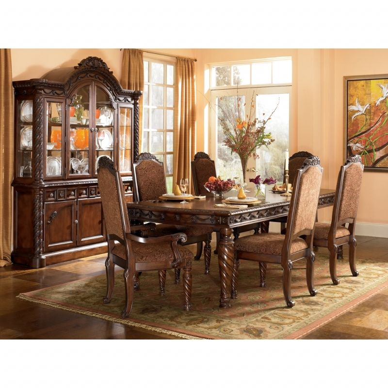 Ashley Dining Room Sets: North Shore Rectangular Dining Room Set