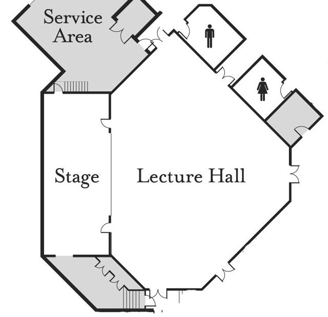 Nemacolin Meetings - Lecture Hall Floor Plan