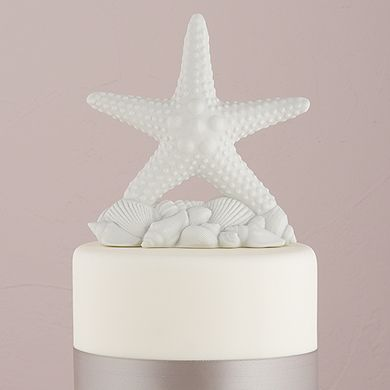 Starfish Wedding Cake Topper For A Beach