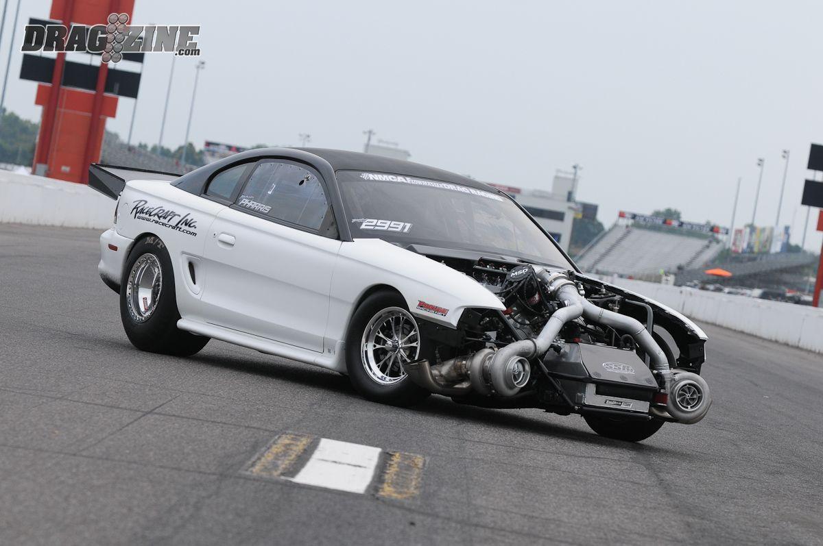 White Hot: Daniel Pharris' 3-Second, 200 MPH Radial Tire '95 Cobra