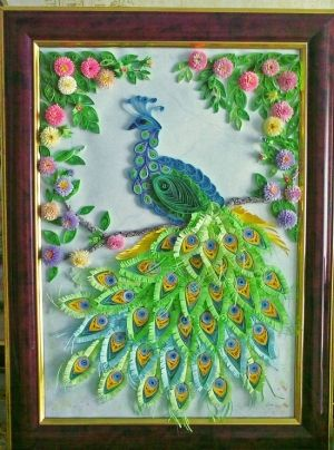 peacock rainbow by catrulz