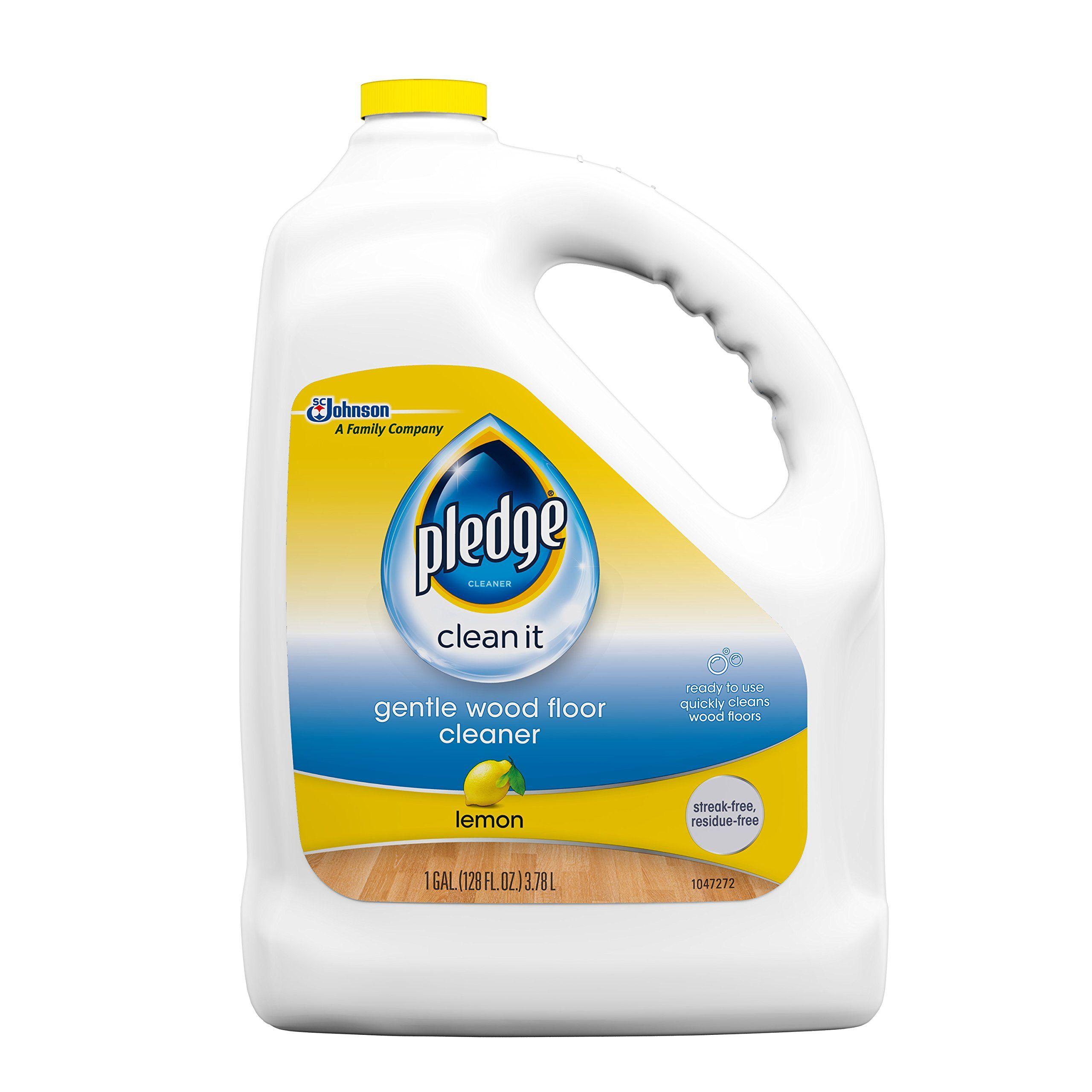 Pledge Gentle Wood Floor Cleaner Lemon 128 Fluid Ounce Want