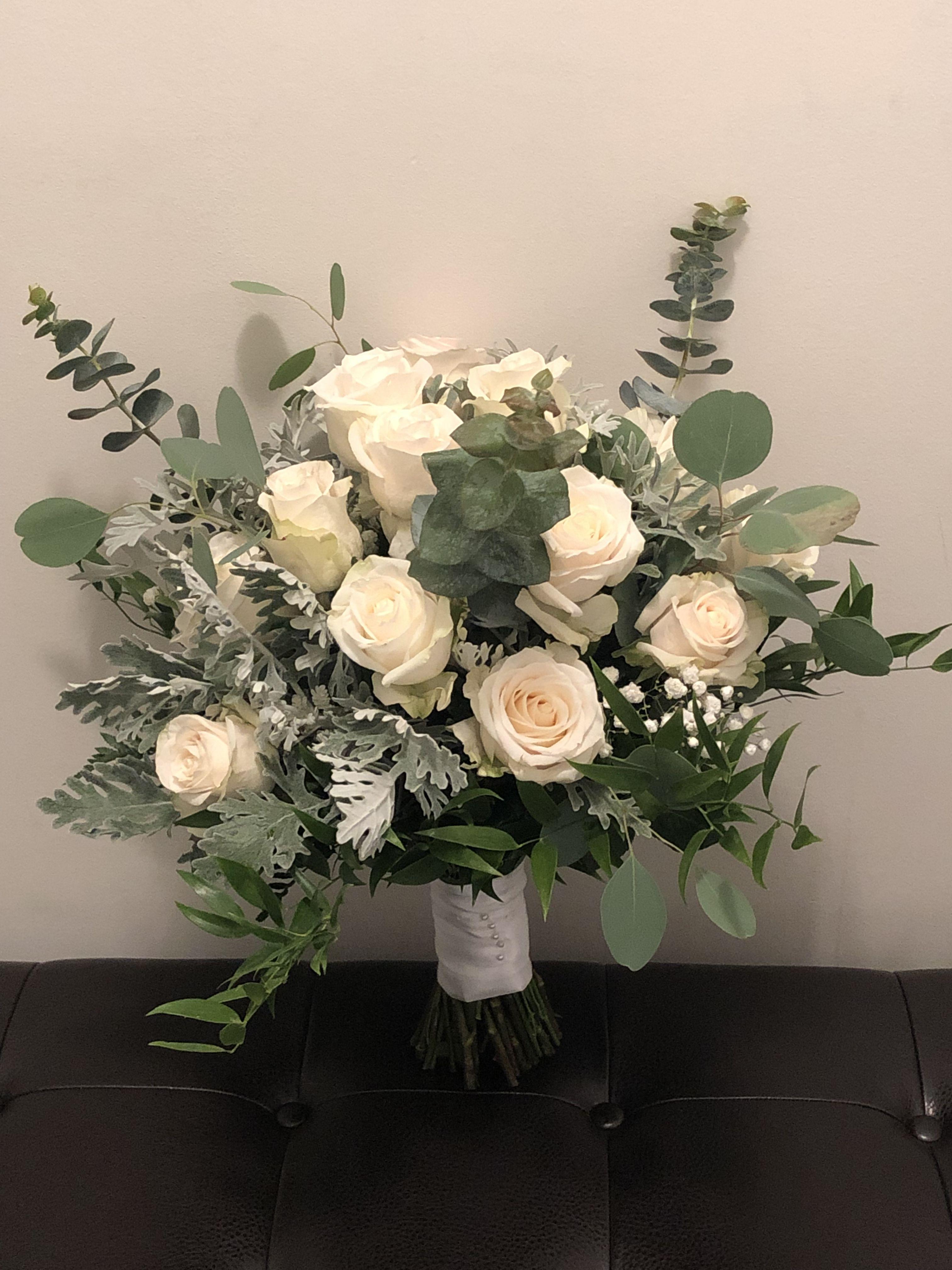 1 Bouquet 21 Tint Head Artifical Fake Rose Weeding Party Home Decor Silk Flower