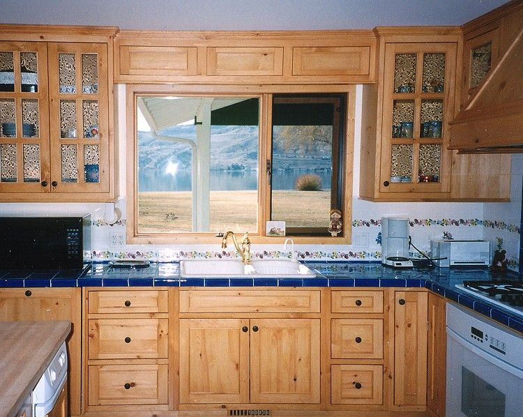 knotty pine | High Country Cabinets - Kitchens - Knotty ...
