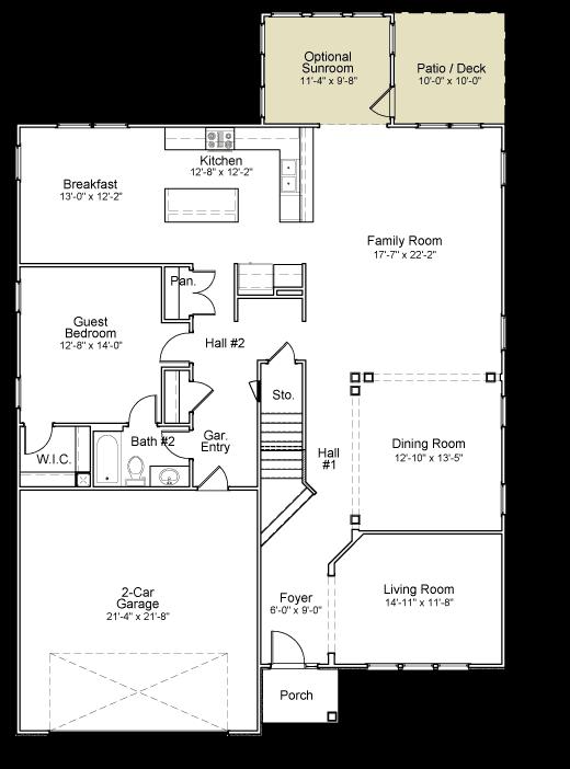 Worthing Floor Plan 6 Bedrooms 4 Bathrooms Floor Plans How To Plan Energy Efficient Homes