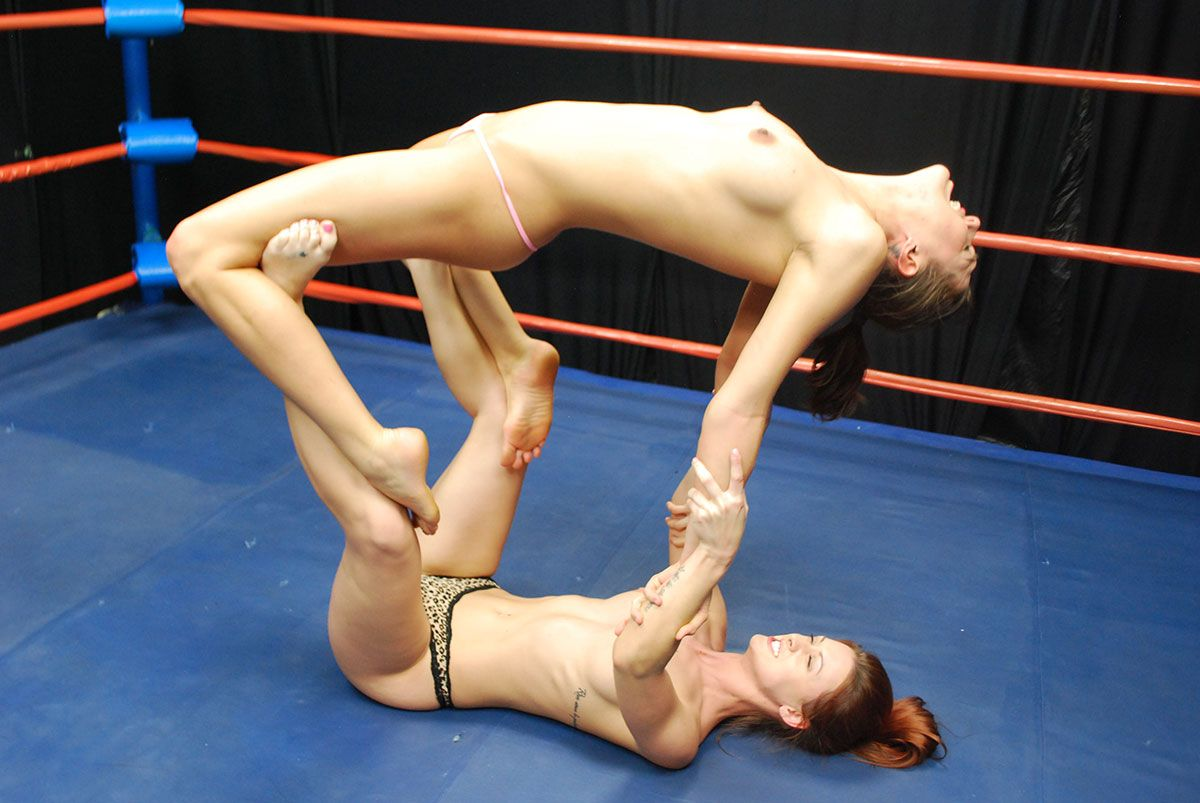 Naked women wrestler — 13