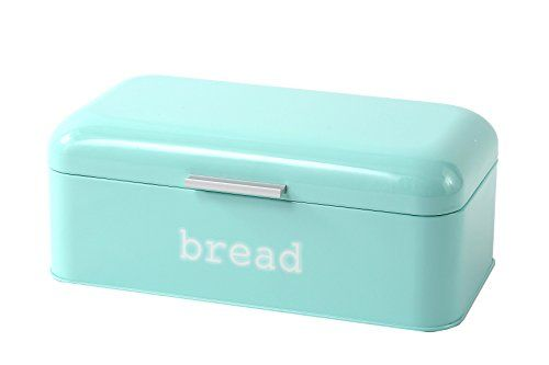 Turquoise Bread Box Bread Box For Kitchen  Stainless Steel Bread Bin Storagehttps