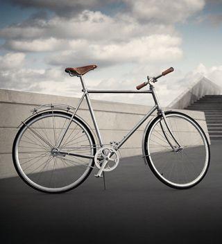 Georg Jensen designed bicycle made by  Soren Sögreni. Perfection #loveyourbike #geogjensen #denmark