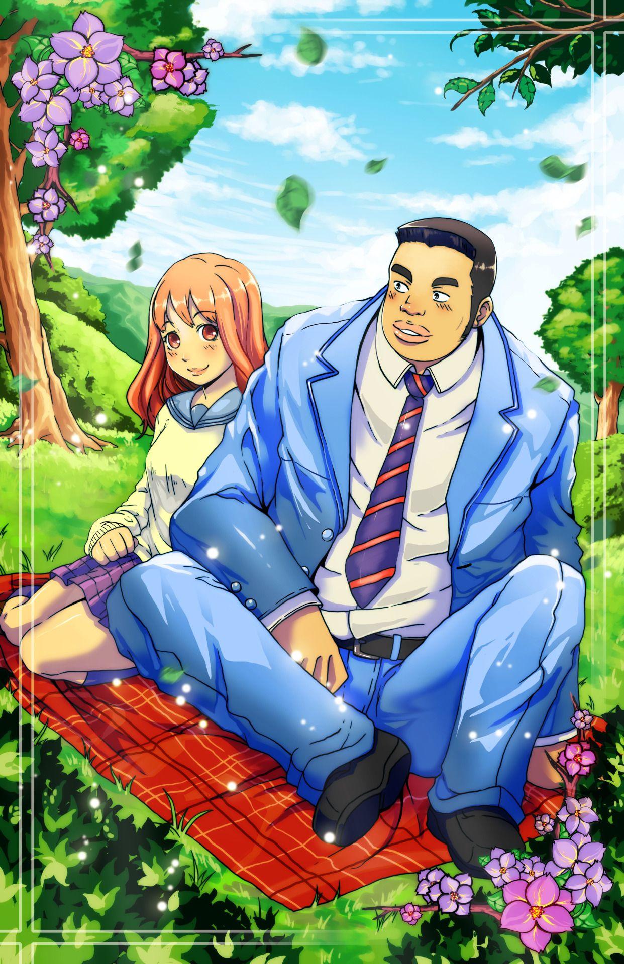 Takeo and Yamato Romantic anime, Anime love, Anime romance