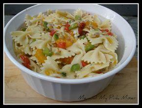Fresh Market Recipe for Orange Zest Bowtie Honey Lemon Pasta Salad