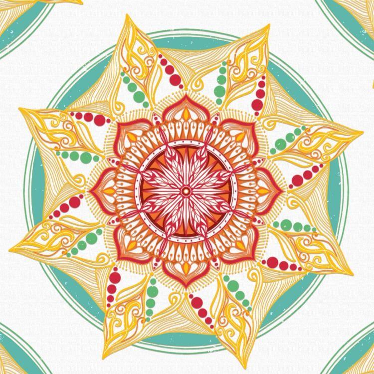 Symmetry Tool Create Mandalas. No.3 วาดเขียน