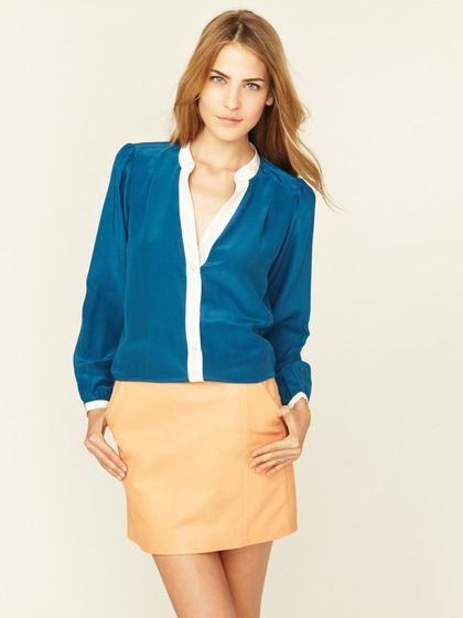 Zoe And Sam Silk Blouse 116
