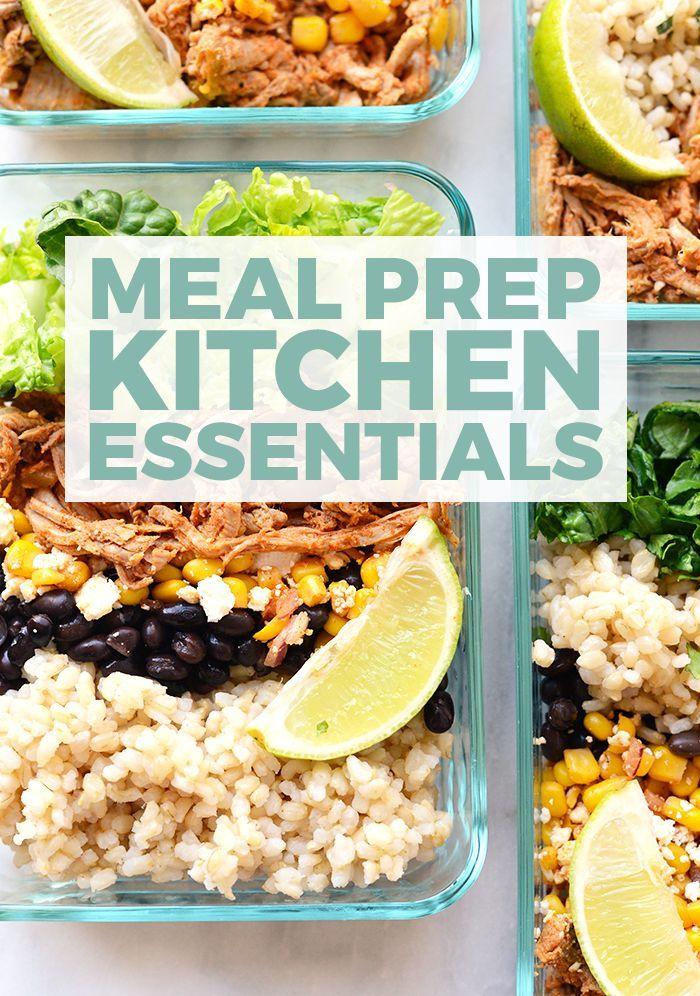 Meal Prep Kitchen Essentials to Make Food Prep a Breeze ...