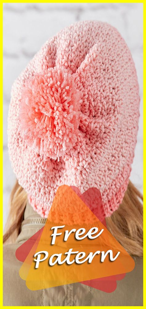 Crochet Ombre Hat Free Pattern   Crochet and Other Needlework ...
