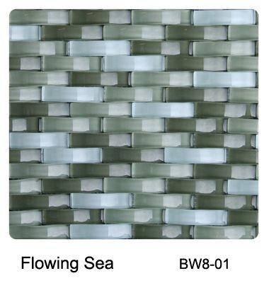 Raffi Gl Basket Weave Flowing Sea