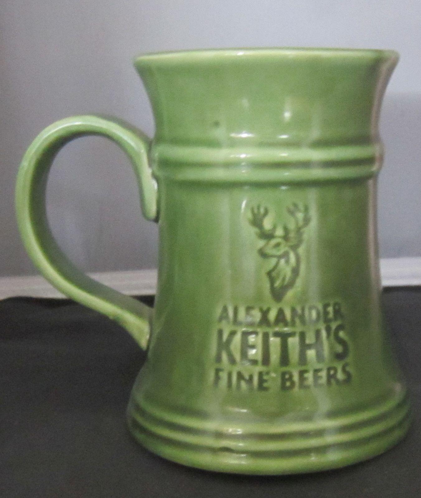 Alexander Keith's Nova Scotia Fine Beer Embossed Green 14
