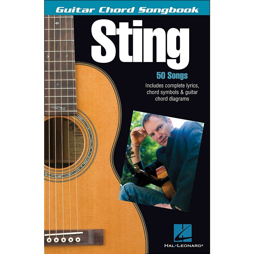 Hal Leonard Sting Guitar Chord Songbook Products Pinterest