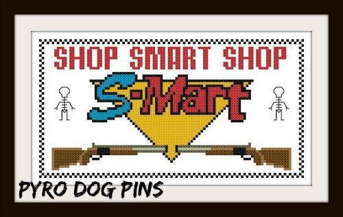 Evil Dead Cross Stitch Pattern Shop Smart Shop by