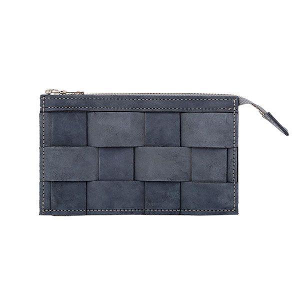 Eduards - Wallet Leather Oily Navy | ENIITO