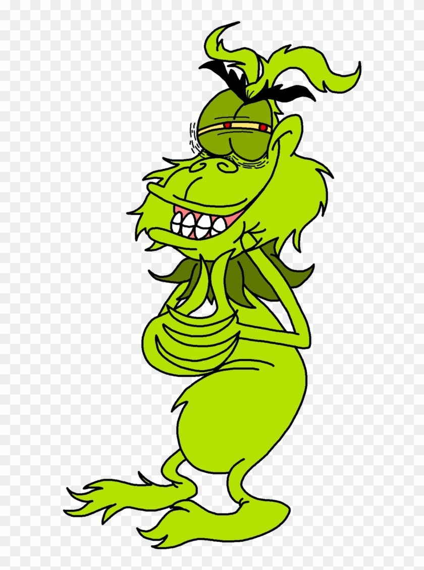 Grinch Smiling Like A Chimp By Lotusbandicoot Transparent Grinch Coloring Pages Clip Art Free Cartoon Characters