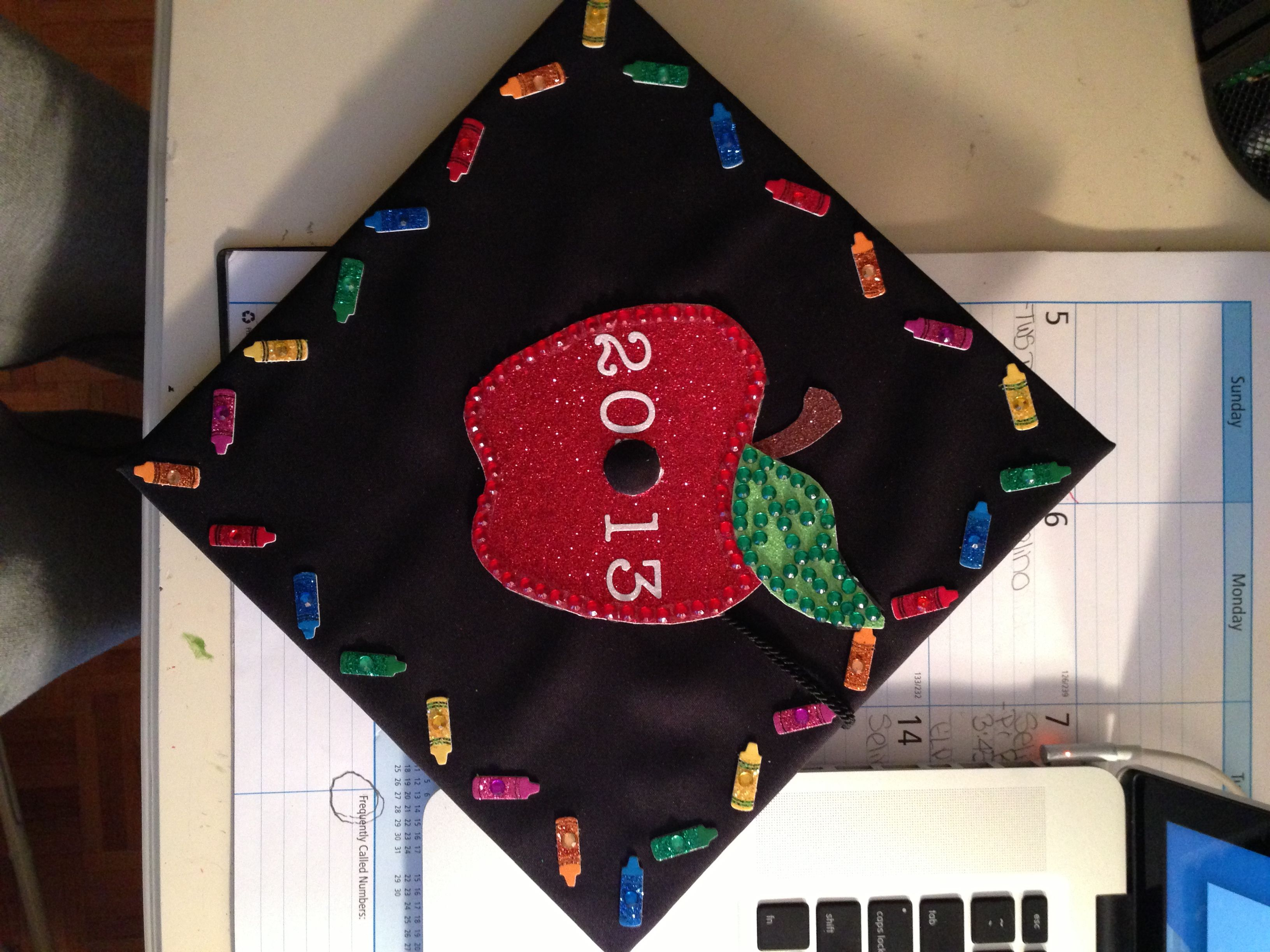 Decorating graduation cap ideas for teachers - Teacher Graduation Cap