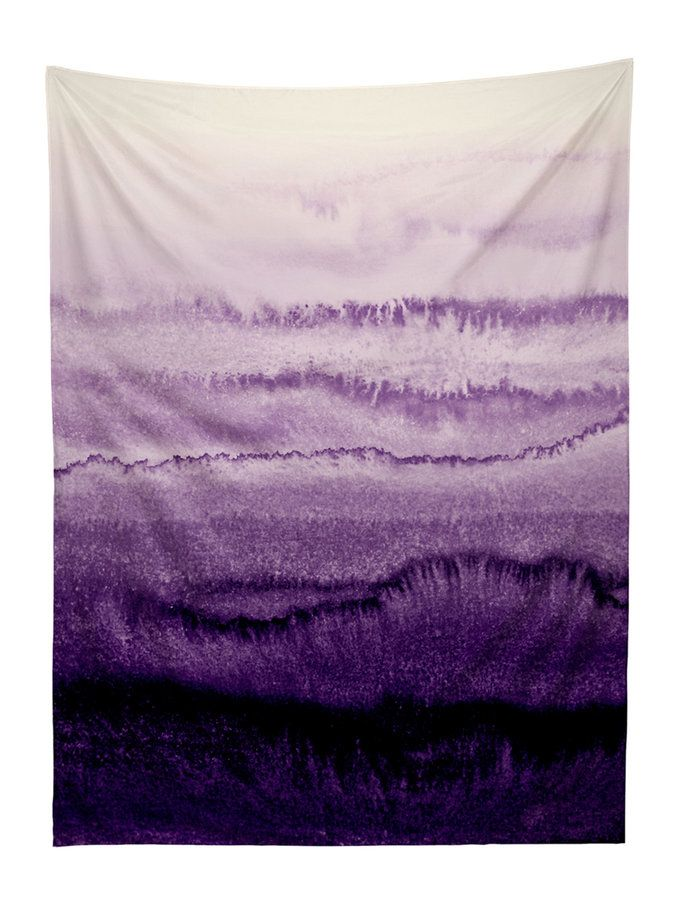 Within the Tides Lavender Fields Tapestry by Monika Strigel from Wall Rehab: Murals, Tapestries