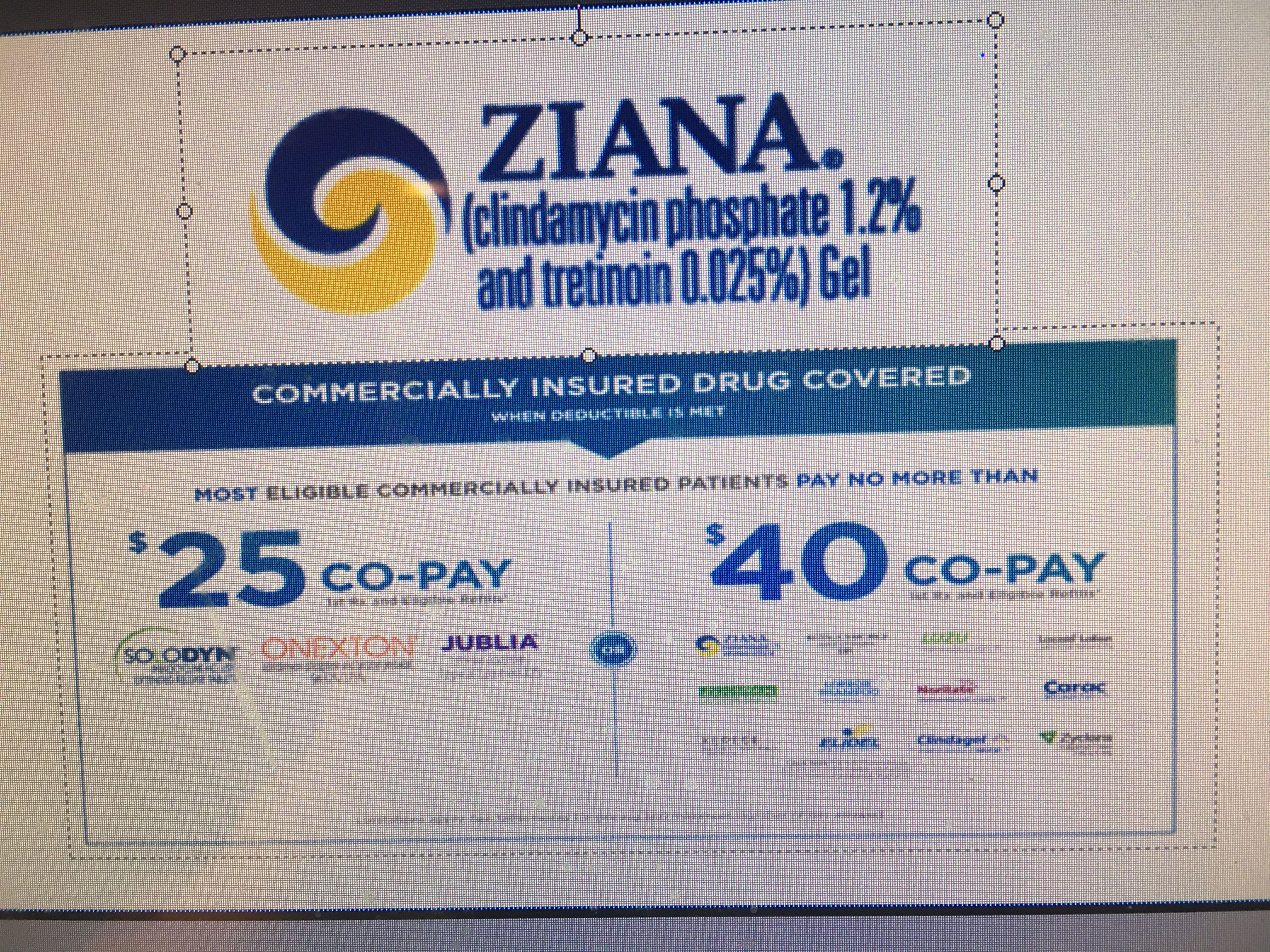 ziana coupon with insurance