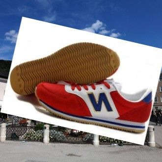 New Balance 420 Classics Suede Unisex Trænere Rød-Hvid-Royal Gold,Fashion trainers will give you special comfort feel ,Never forget it .