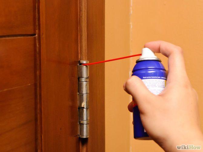 Stop Squeaky Door Hinges Cleaning Hacks House Cleaning Tips Squeaky Door