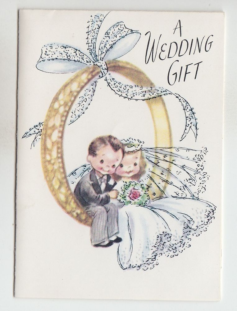 Auguri Matrimonio Vintage : Vintage bride and groom sitting on ring wedding gift