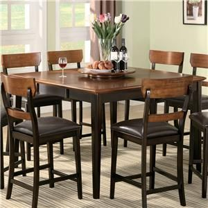 Franklin Counter Height Table by Coaster - Nations Furniture ... on kitchen dining chairs, antique kitchen tables and chairs, kitchen table with chairs, oak kitchen chairs, large kitchen tables and chairs, red chrome kitchen chairs, kmart kitchen tables and chairs, kitchen tables without chairs, quality kitchen tables and chairs, furniture sofas and chairs, furniture kitchen dinette sets, amish kitchen tables and chairs,