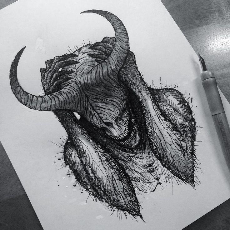 Shriek, beasts of ash and sky, regrow your broken … – #ash #beasts #broken #fl… – Kunst