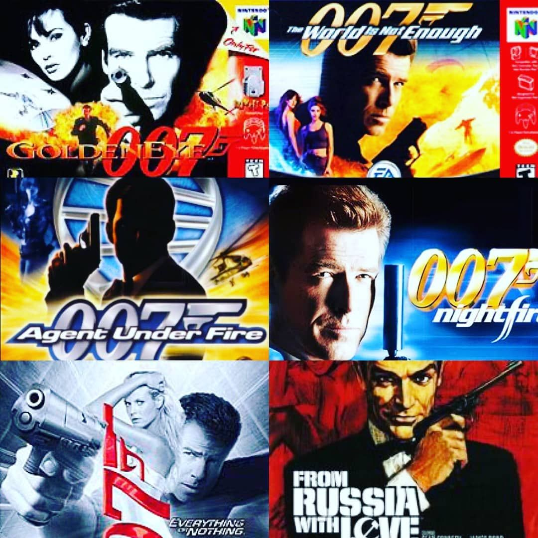 These 6 Classic Masterpiece Of One Of The Best James Bond Video