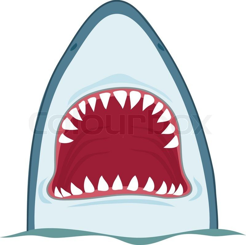 32++ Shark open mouth clipart ideas in 2021