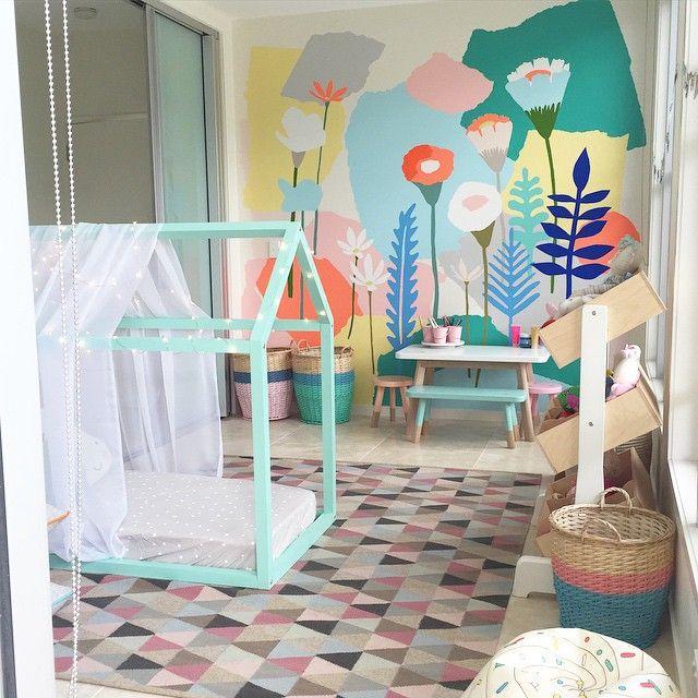 playroom by petite vintage interiors habi Mara Pinterest Sala
